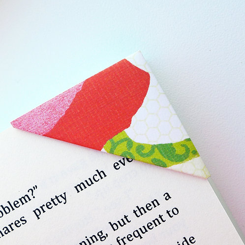 Abstract Flower In Art Form Bookmark