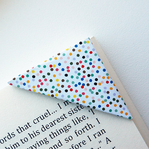 Scattered Dot Bookmark (2 colors)