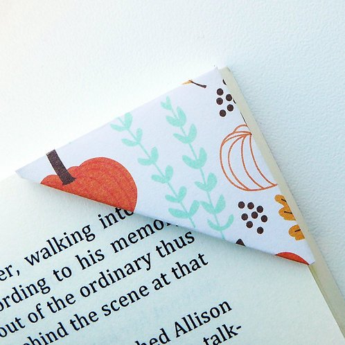Pumpkin Season Autumn Bookmark