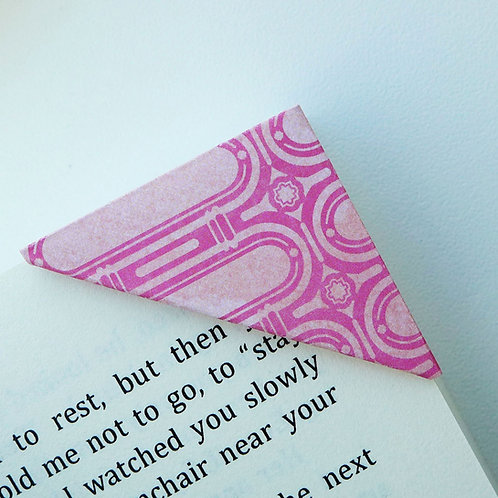 Name Plate Label Bookmark (2 colors)