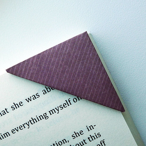 Tweed Purple Pattern Bookmark