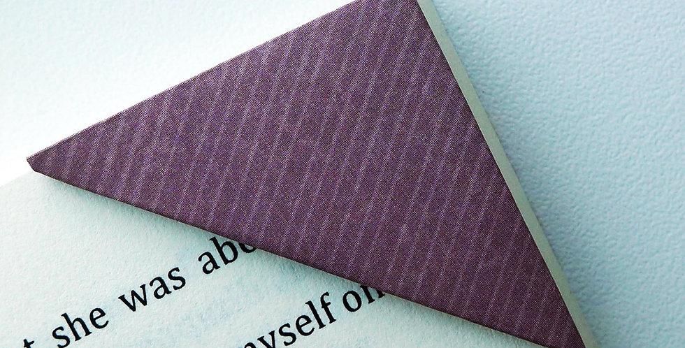 Tweed Purple Pattern Bookmark
