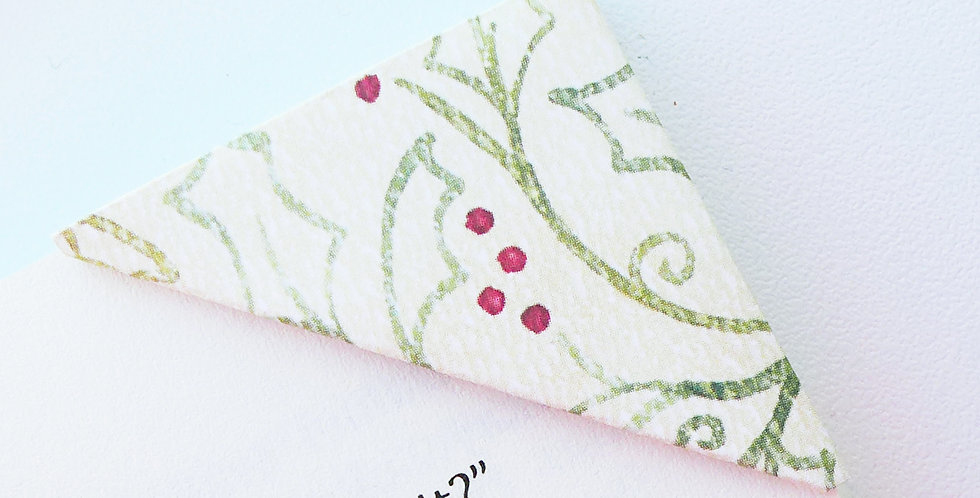 Christmas Is Coming Bookmark