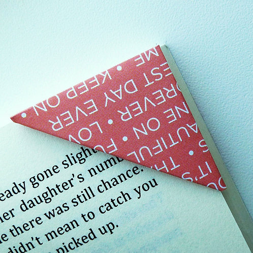 Be My Forever Bookmark