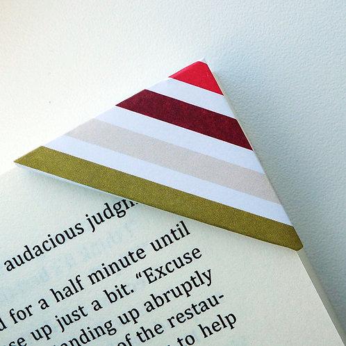 Dark Chocolate Candy Wrapper Bookmark