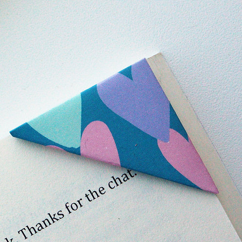 Painted Heart Bookmark