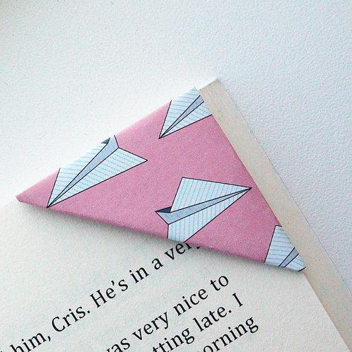 Paper Plane Bookmark