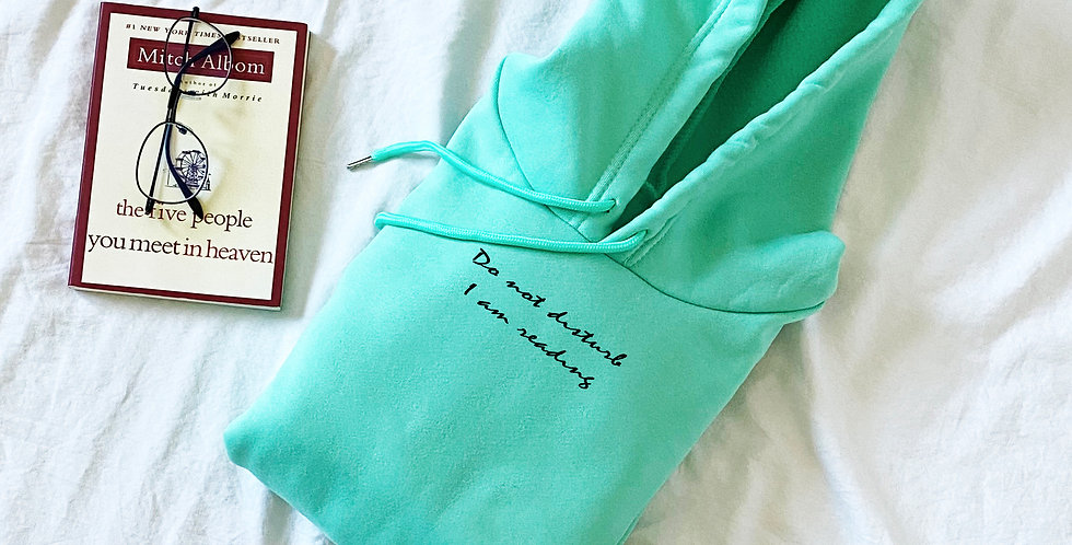 """Do not disturb..."" Loose Fit Unisex Fleece Hoodie (4 colors)"