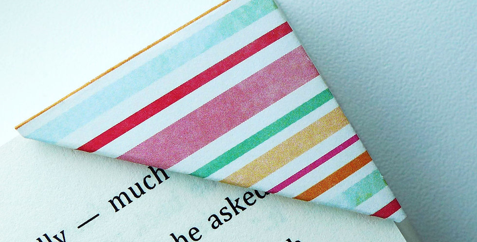 Cotton Candy Wrapper Bookmark