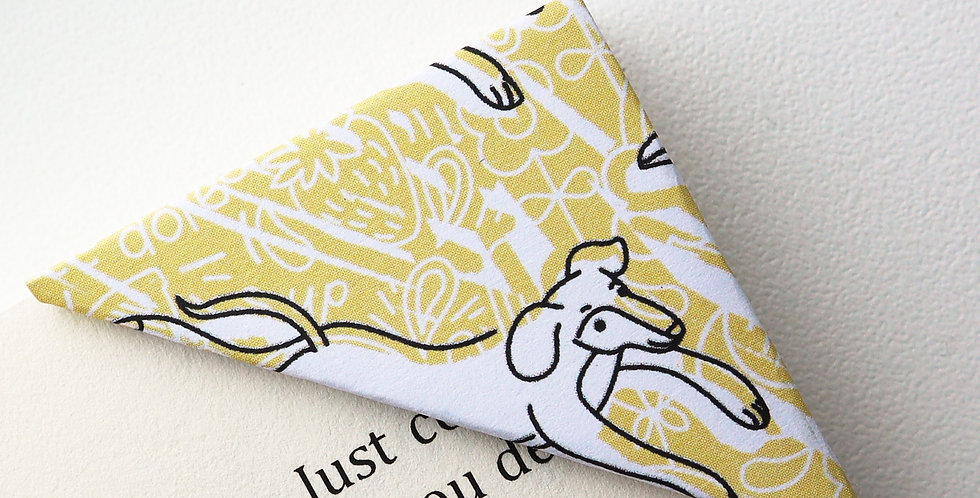 Doggy Going Places Bookmark