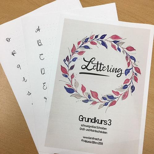 Lettering Grundkurs 3