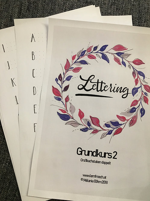 Lettering Grundkurs 2