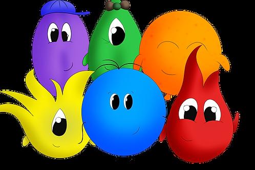 Geschichte: Die Welt der Farben