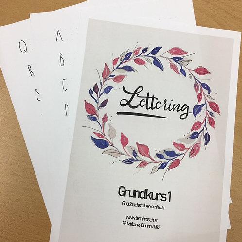 Lettering Grundkurs 1