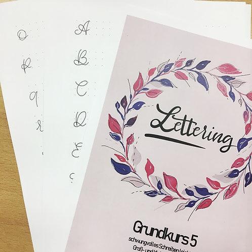 Lettering Grundkurs 5