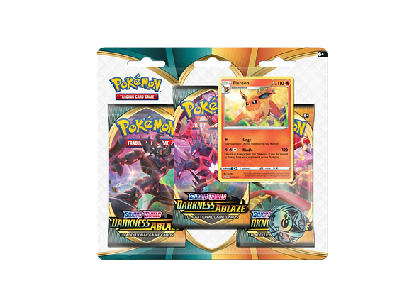 Blister Sword and Shield Darkness Ablaze Flareon.