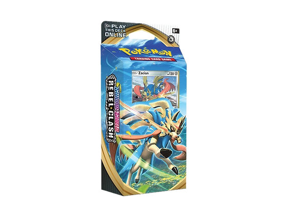 Sword and Shield Rebel Clash Theme Deck Zacian.
