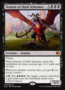 Demon of Dark Schemes - Magic The Gathering