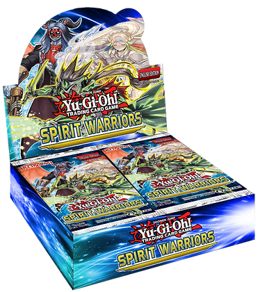 Display de sobres de Spirit Warriors Yu-Gi-Oh!