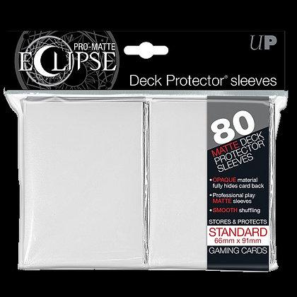 Protectores Ultra Pro Eclipse White Matte Standard