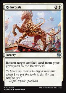 Refurbish - Magic The Gathering