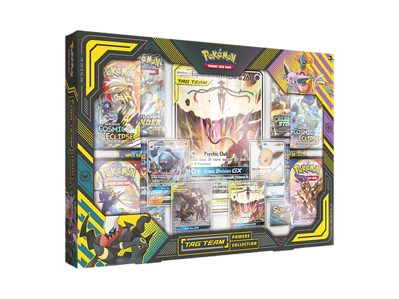 Tag Team Power Collection Espeon and Deoxys Box Inglés.
