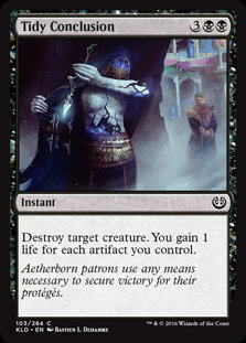 Tidy Conclusion - Magic The Gathering