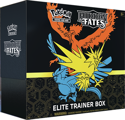 Elite Trainer Box Hidden Fates Inglés.