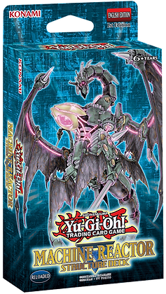 Structure Deck Machine Reactor Yu-Gi-Oh!