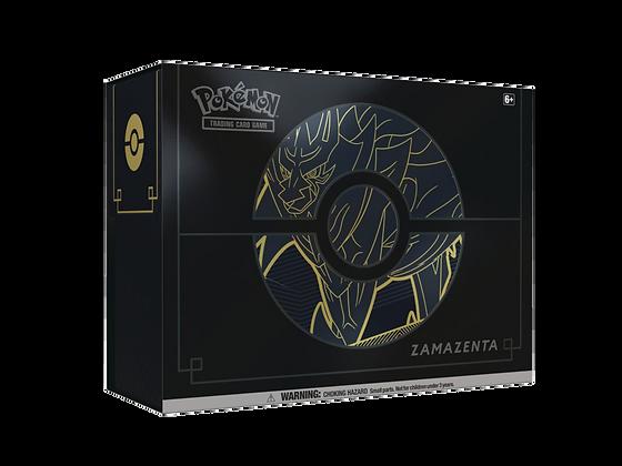 Elite Trainer Box Plus Zamazenta en Inglés.