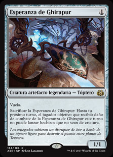 Esperanza de Ghirapur - Magic The Gathering