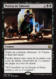 Pericia de Yahenni - Magic The Gathering