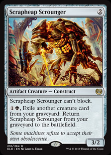 Scrapheap Scrounger - Magic The Gathering