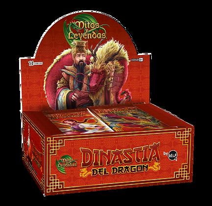 Promoción 3 Display de Sobres de 11 cartas de Dinastía del Dragón.