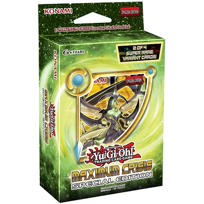 Especial Edition Maximum Crisis Yu-Gi-Oh!