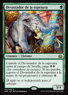 Devastador de la Espesura - Magic The Gathering