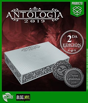 Antología 2019: Segunda Edición - Mitos y Leyendas.
