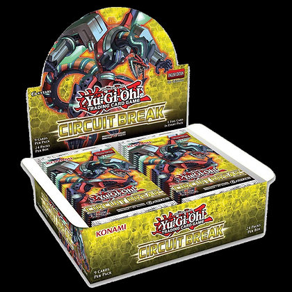 Display de sobres de Circuit Break Yu-Gi-Oh!