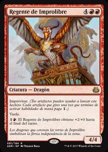 Regente de Improlibre - Magic The Gathering