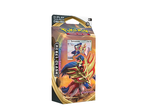 Sword and Shield Rebel Clash Theme Deck Zamazenta.