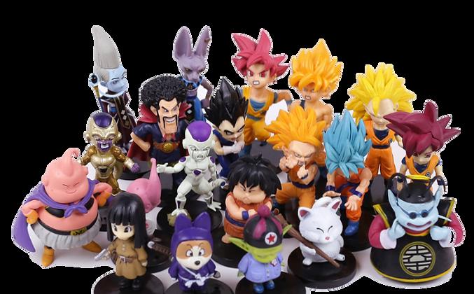 Figuras de Acción - Dragon Ball Super