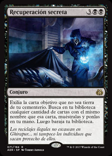 Recuperación Secreta - Magic The Gathering