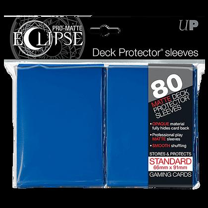 Protectores Ultra Pro Eclipse Blue Matte Standard