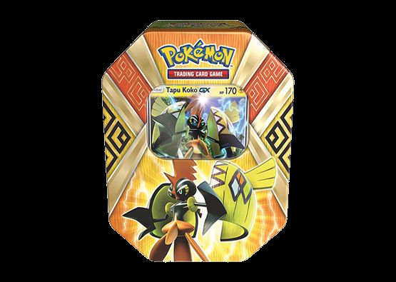 Tapu Koko Tin Pokémon T.C.G.