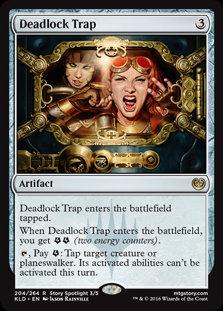 Deadlock Trap - Magic The Gathering