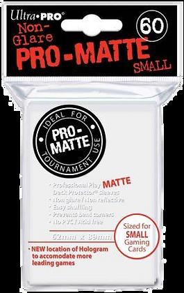 Protectores Ultra Pro Blanco Matte Small