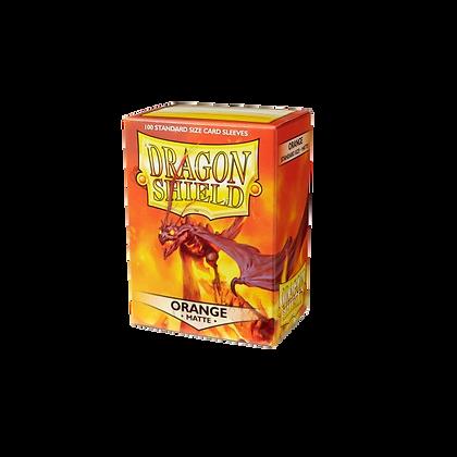 Protectores Dragon Shield Orange Matte Standard
