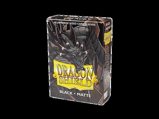 Protectores Dragon Shield Black Matte Small.