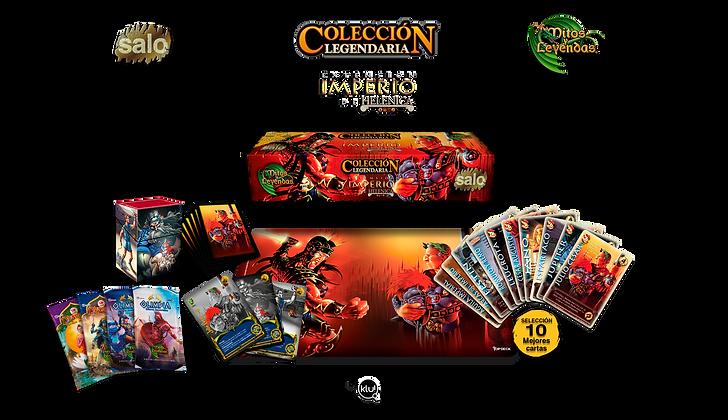 Colección Legendaria Imperio de Helénica