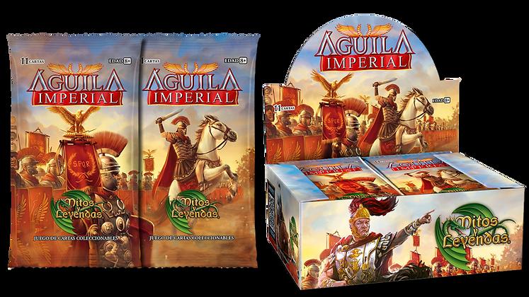 Caja de Sobres de 11 cartas de Águila Imperial